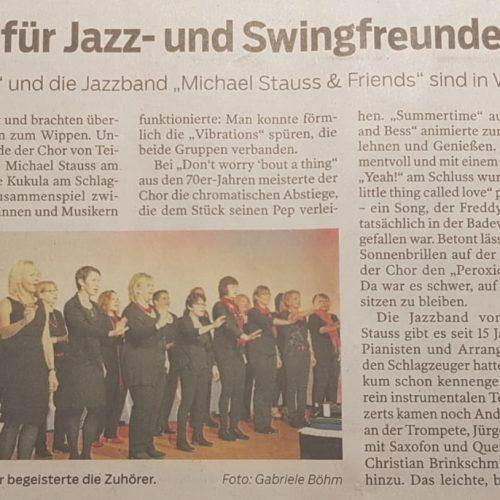 Ein wahres Fest für Jazz- und Swingfreunde
